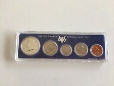 1967 SMS Set In Snap Tight Display Case 40/% Silver Kennedy Combined Shipping