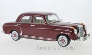 Mercedes 220 S (W180 II) dunkelrot 1956 - 1:18 KK Scale