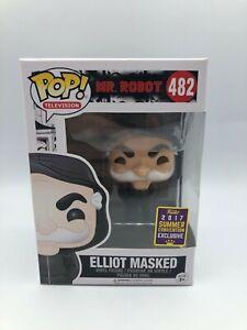 Summer Convention Funko Pop Television Mr Robot Elliot Masked 482 Vinyl Figure