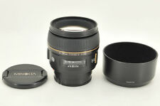 *Excellent* Minolta AF 85mm f/1.4 G D Limited for Sony Alpha from Japan #0928