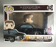 Pop Rides Supernatural #32 Baby With Dean Funko 2017 Summer Convention Exclusive