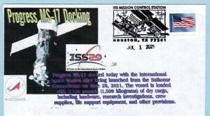 Space cover Progress MS-17 docking Houston 7/1/2021 cancel
