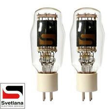Brand New Factory Matched Pair 2x Svetlana SED SV-811-3 Vacuum Tubes