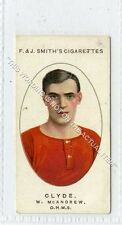 More details for (ga6585-454) smith, football club records, #5 w.mcandrew, clyde 1917 vg