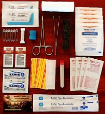 First Aid Surgical Suture Kit Emergency Survival Trauma Kit IFAK Paramedic EMT