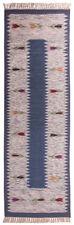 Tapis bleu pour la maison en 100% laine