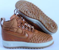 Women's Nike Lunar Force 1 Duck Boots Khaki/Gum SZ 7 [AA0283-200] Sample