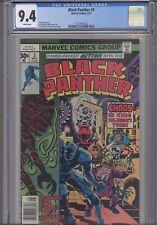 Black Panther #3  CGC 9.4 1977 Marvel Kirby Comic: New Frame