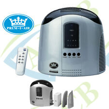 Prem-I-Air Hepa Air Purifier with Ioniser and Remote Control Timer LED Display