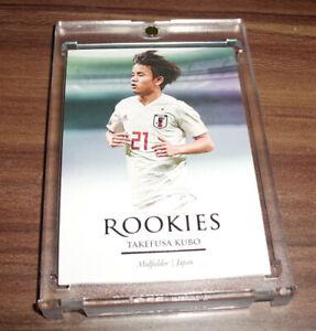2020 Futera Takefusa Kubo RC Rookie SP Barcelona Japan Future 🔥📈Phenom RARE