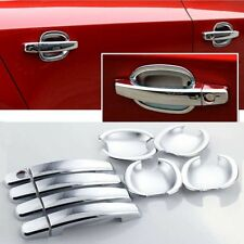 For Chevrolet Cruze 2009-2015 Chrome ABS Door Handle Bowl Cover Cup Overlay Trim