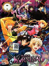 Karneval DVD Complete 1-13 (Japanese Ver.) - Anime - US Seller Ship FAST