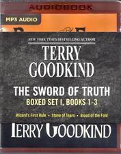 Terry Goodkind Sword of Truth Series: Books 01-03 Unabridged MP3 Audio Books