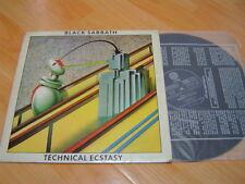 BLACK SABBATH ozzy osbourne 6TRACK TECHNICAL ECSTASY 1982 KOREA VINYL LP vertigo