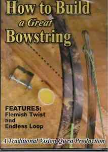 INSTRUCTIONAL DVD: HOW TO BUILD A GREAT BOWSTRING