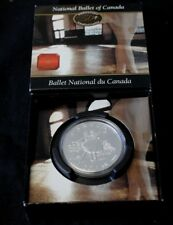 Canada Silver Dollar 2001 50th National Ballet of Canada