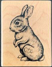 Inkadinkado Bunny Rabbit Profile Rubber Stamp