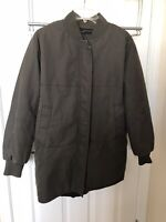 Zara Woman Winter Jacket Coat Size Medium Olive Green