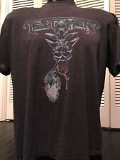 VTG 87 Testament Legacy Tour Shirt Sz XL Thrash Rock Venom Metal Slayer Exodus