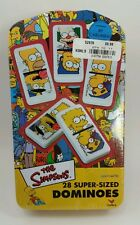 The Simpsons 28 Super Sized Dominoes Collectible Tin Brand New Factory Sealed