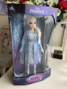 """ELSA DISNEY FROZEN II 2 DOLL LIMITED EDITION SOLD OUT 17"""""""