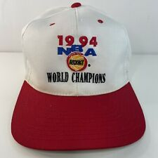 Vintage Houston Rockets 1994 NBA World Champions Snapback Cap Hat