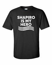 Política Shapiro Es mi Héroe Adulto Unisex Camiseta Manga Corta