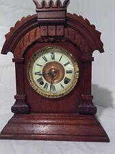 Antique Ansonia Tunis Mantle Clock c1882 -JPS