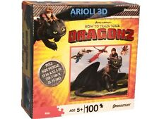 How to Train Your Dragon 2 - PUZZLE # 10744 - HICCUP - NIGHT FURRY CASSE-TÊTE