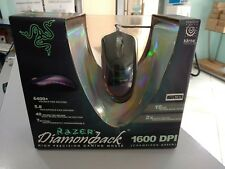 RARE Mouse Razer Diamondback Chameleon Green 2004 SEALED FOR COLLECTORS