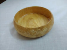 Hand Made Small Wood Wooden Bowl