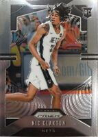 19-20 Panini Prizm RC Nic Claxton #292 Rookie Card Brooklyn Nets