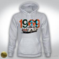 Felpa Hoodie Porsche 911 1969 Tour the France Winner Rally Legend Montecarlo Old