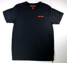 Jagermeister T-Shirt  Size Large V-Neck Mens Black Liquor Drinking