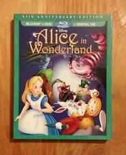 Alice In Wonderland (1951) 65th Anniversary Edition Blu-ray w/ SLIPCOVER! Disney