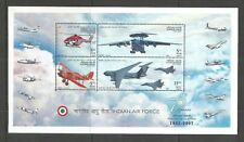 INDIA 2007 INDIAN AIR FORCE MINISHEET SG,MS2432 UM/M NH LOT L322