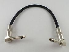 """Parche de servicio pesado plomo 30cm en ángulo recto metal 1/4"""" Conectores para FX Effects Pedal"""