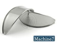 Classic VW Beetle Bay T2 Bus Light Headlamp Eyebrows Eyelids Chrome Stainless