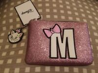 PRIMARK DISNEY MARIE COIN/ MAKE UP PURSE FROM THE ARISTOCATS  NEW AND TAGGED