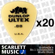 20 x Jim Dunlop Standard Ultex .88mm Picks Plectrums 88-ULT 421R *20 PICKS*