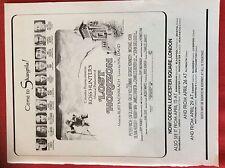 m6-9b ephemera 1970s film advert lost horizon bacharach david finch ullmann