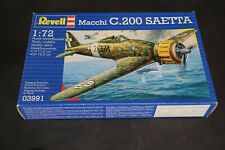Vintage Revell Macchi C.200 Saetta 1:72 Scale Model Kit