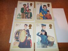 Youth Organisations 24 March 1986 PHQ 58 set Royal Mail Stamp Card Series MINT
