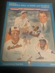 1982 National Baseball Hall of Fame and Museum Aaron Robinson