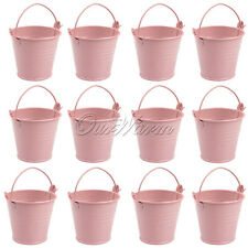 12 x Christmas Mini Candy Box Pail Wedding Baby Shower Almonds Small Gift Bucket