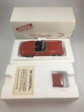 Danbury Mint 1962 Chevrolet Corvette Red 1:24 Scale Diecast w/ original box