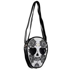 Woman Personalized Messenger Handbag Cute Skull He Shoulder Bag T1O5