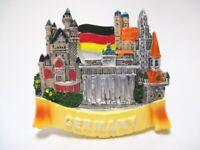 Allemagne Aimant Souvenir Château Neuschwanstein Berlin Munich Poly
