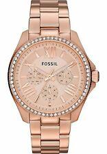 Orologio Donna Oro Analogico al Quarzo Cassa Placcato Oro Rosa Fossil AM4483