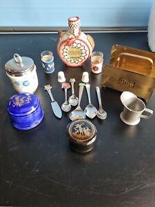Vintage job lot collectables curios
